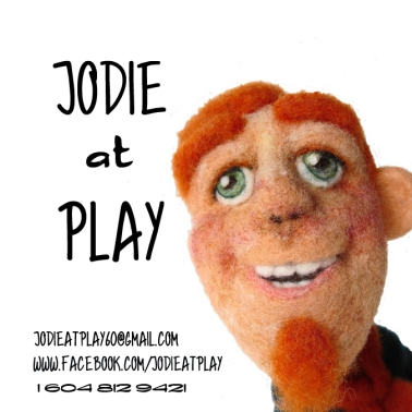 jodie at play business card